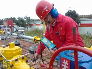 KMinstrument SDT270 application in PetroChina Southwest Oil Gasfield Company2