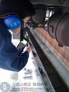 祺迈SDT超声波检漏仪应用于成都车辆段
